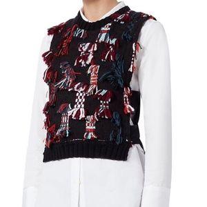 Sea Multicolor Confetti Knit Sweater Vest